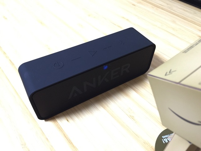 AnkerのBluetoothスピーカー「SoundCore」を学校の先生に勧めたい6つの理由。