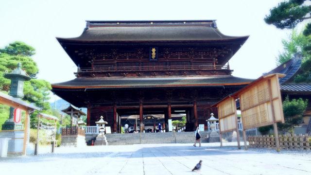 一生に一度は善光寺詣り,というわけで夏の早朝に善光寺に参拝してきた【長野の旅#1】