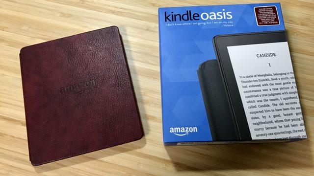 【購入6ヶ月】Kindle Oasisのバッテリーカバーが接触不良!しかしAmazonの神対応に感動した。