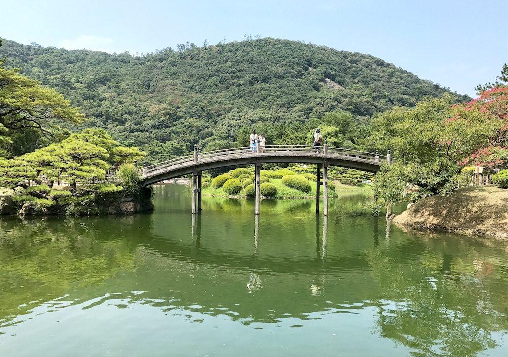 日本の自然観を垣間見た「栗林公園」こだわり抜かれたその美しさは海外の方に見て欲しい!【香川の旅#3】