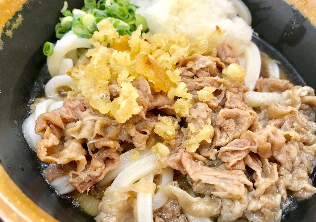高松高裁向かい「植田うどん」肉ぶっかけうどんは甘く切ない恋の味?【香川の旅#8】