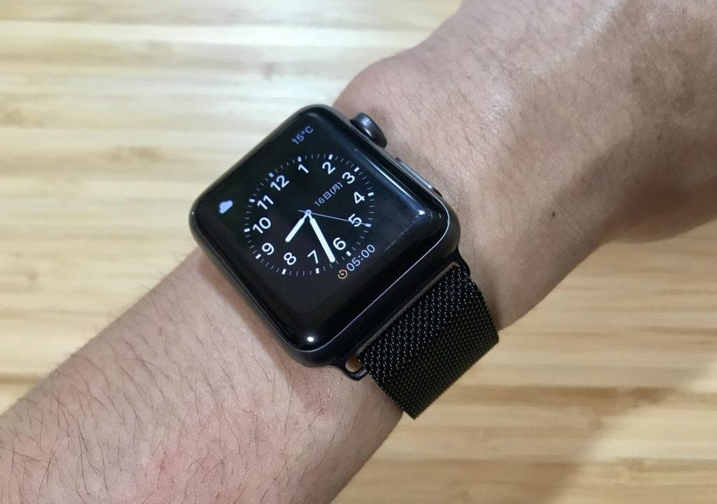 Apple Watchのミラネーゼループのそっくりさんバンドのコスパが高過ぎて驚いた!