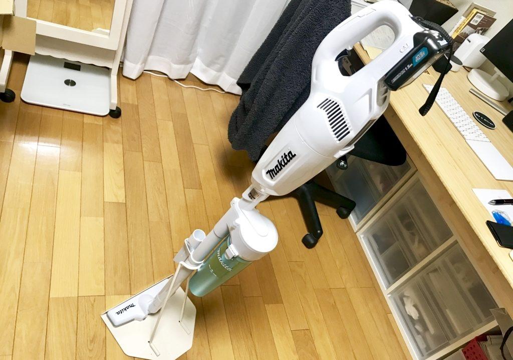 マキタ充電式クリーナーの純正サイクロンアタッチメント導入!ゴミ捨てが楽で衛生的