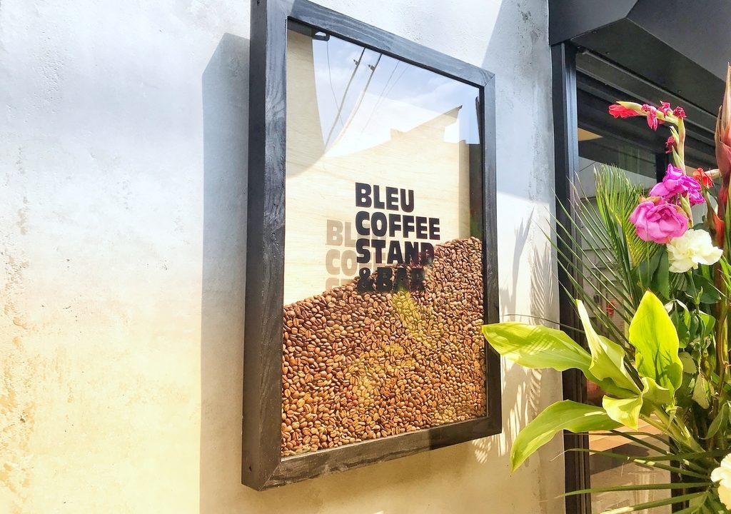 小田原の新たなスポット コーヒースタンド「BLEU COFFEE STAND & BAR」