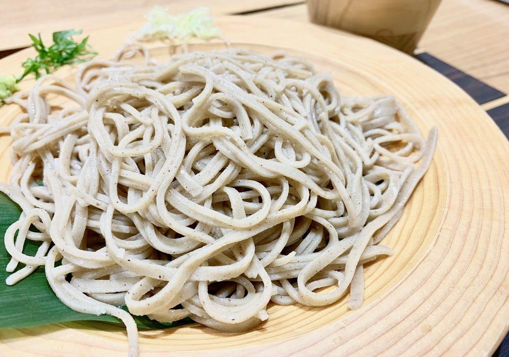 小田原駅のすぐそば「きみのそば」 十割蕎麦がリーズナブルに楽しめる
