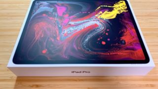 iPad Pro 12.9 2018モデル三種の神器が予約1ヶ月後にやっと到着(とりあえず開封)