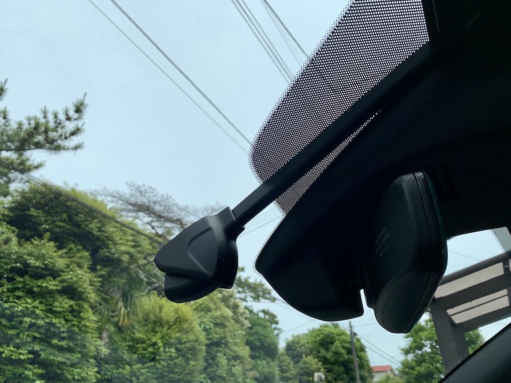 マツダ3前方カメラ